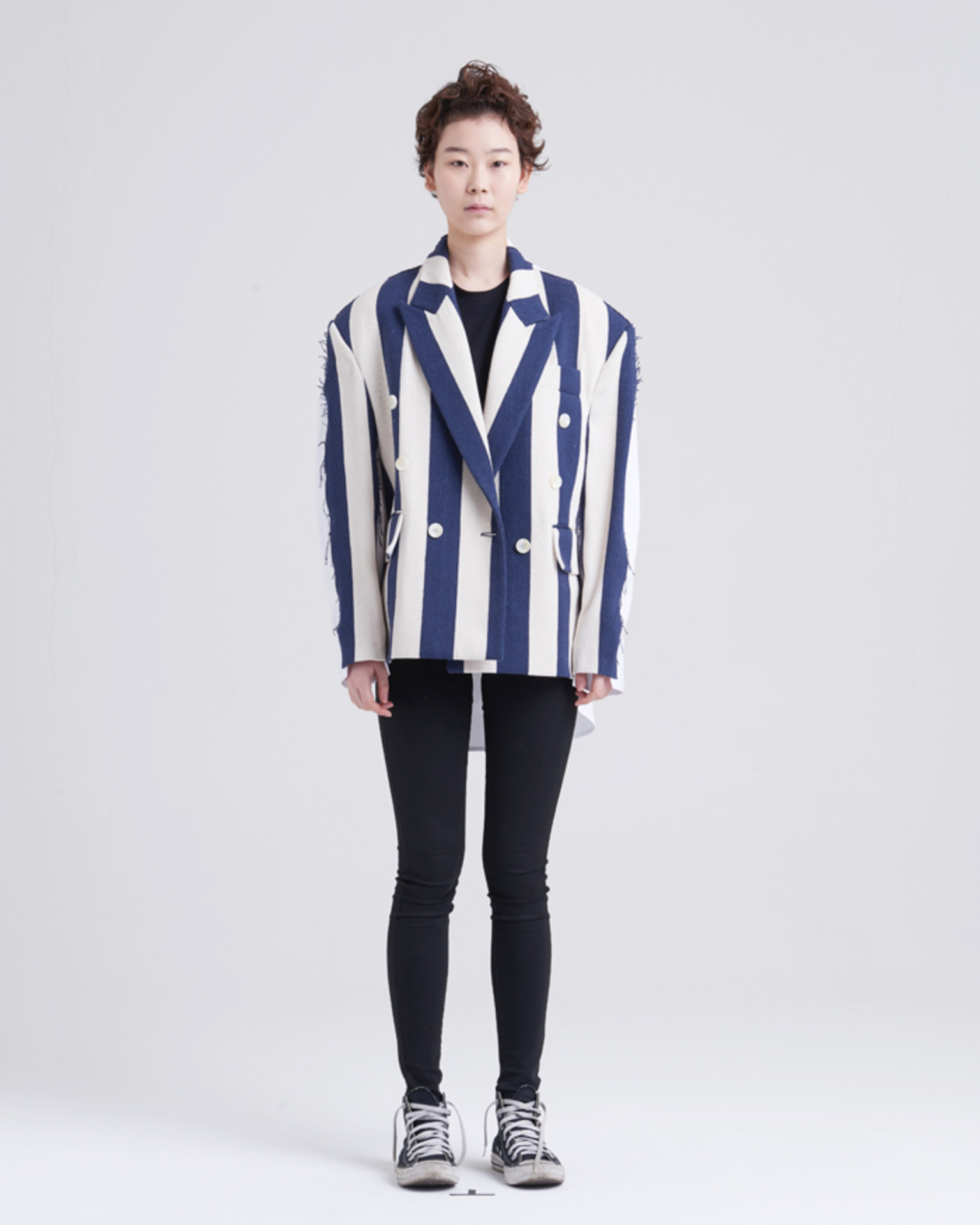 SHIRT MIX DOUBLE JACKET