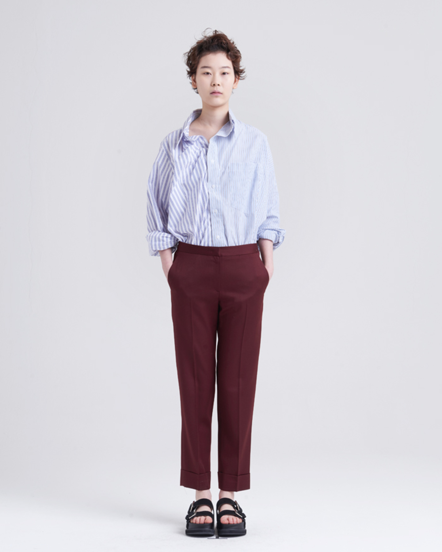BROWN STANDARD SLACKS