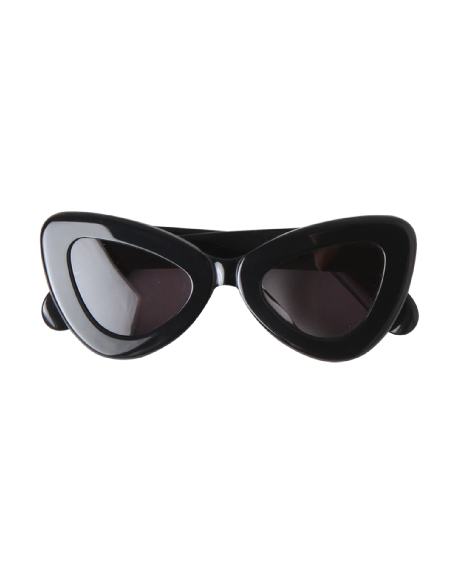 BOLD TRIANGLE FRAME SUNGLASSES