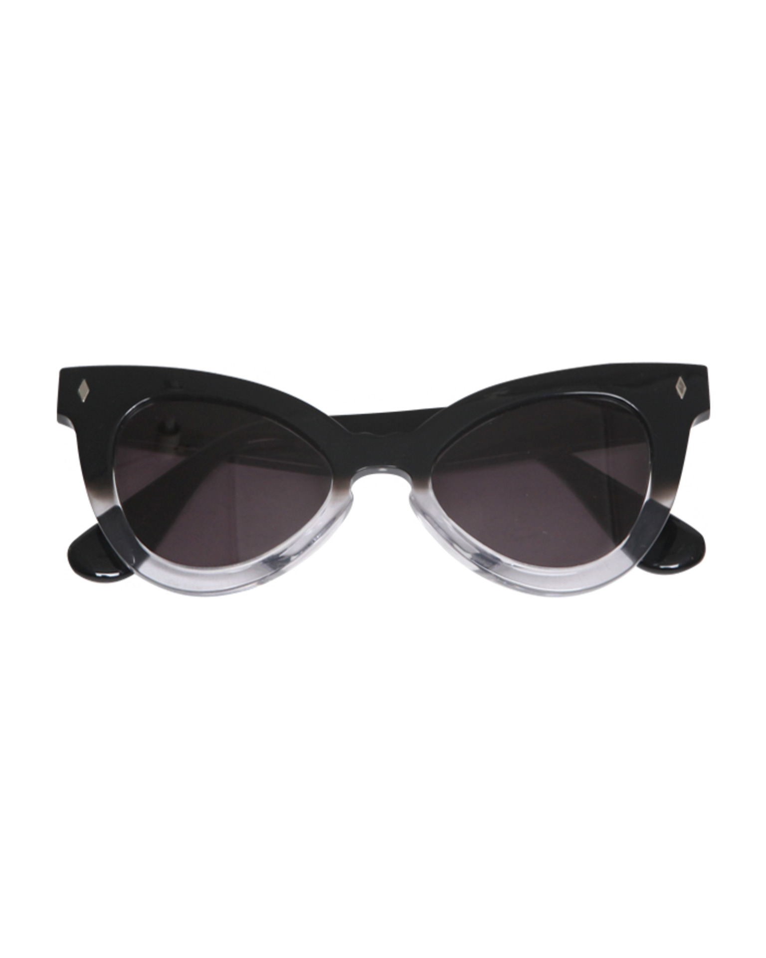 GRADATION POINT FRAME SUNGLASSES