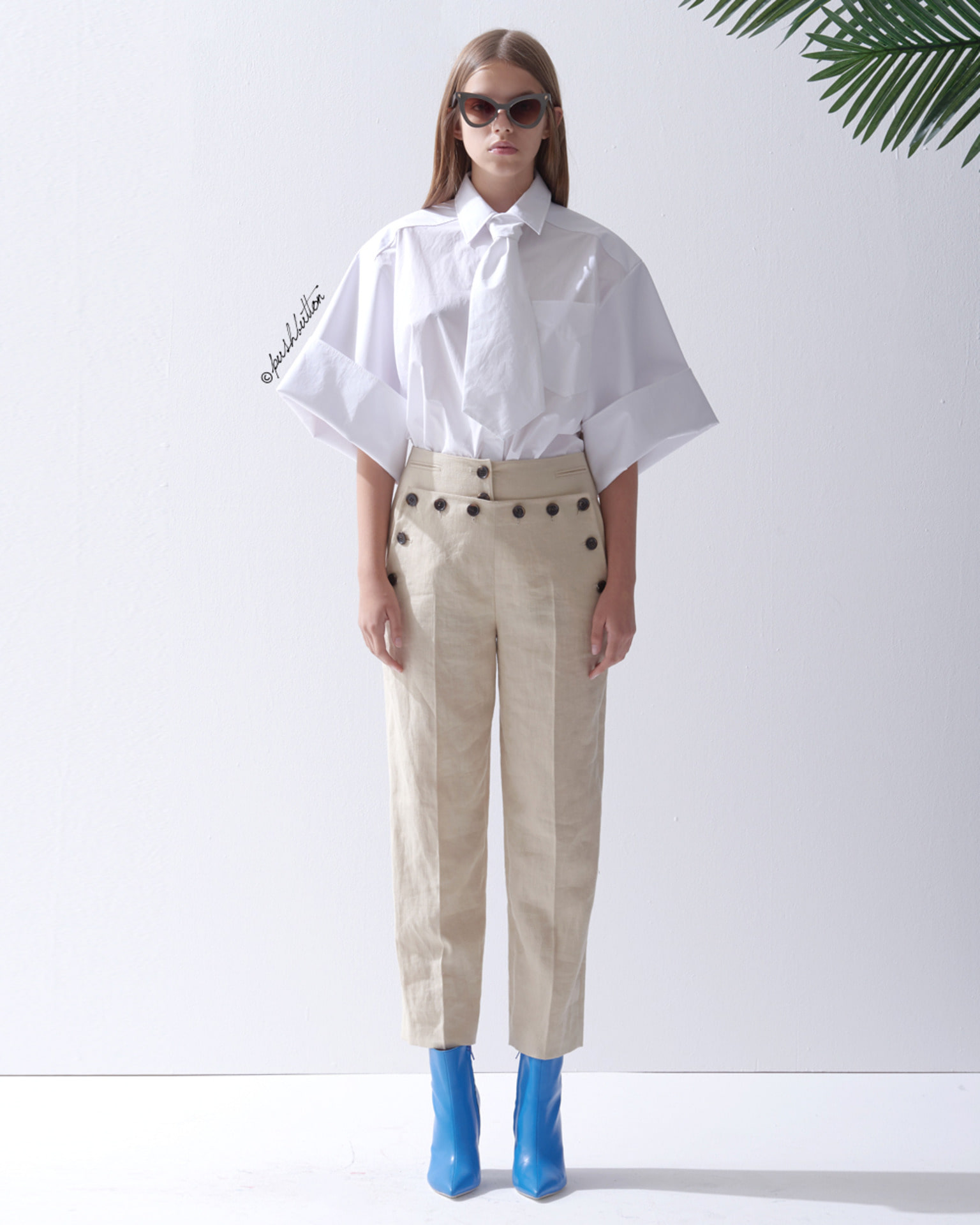 SAILOR BUTTON PANTS