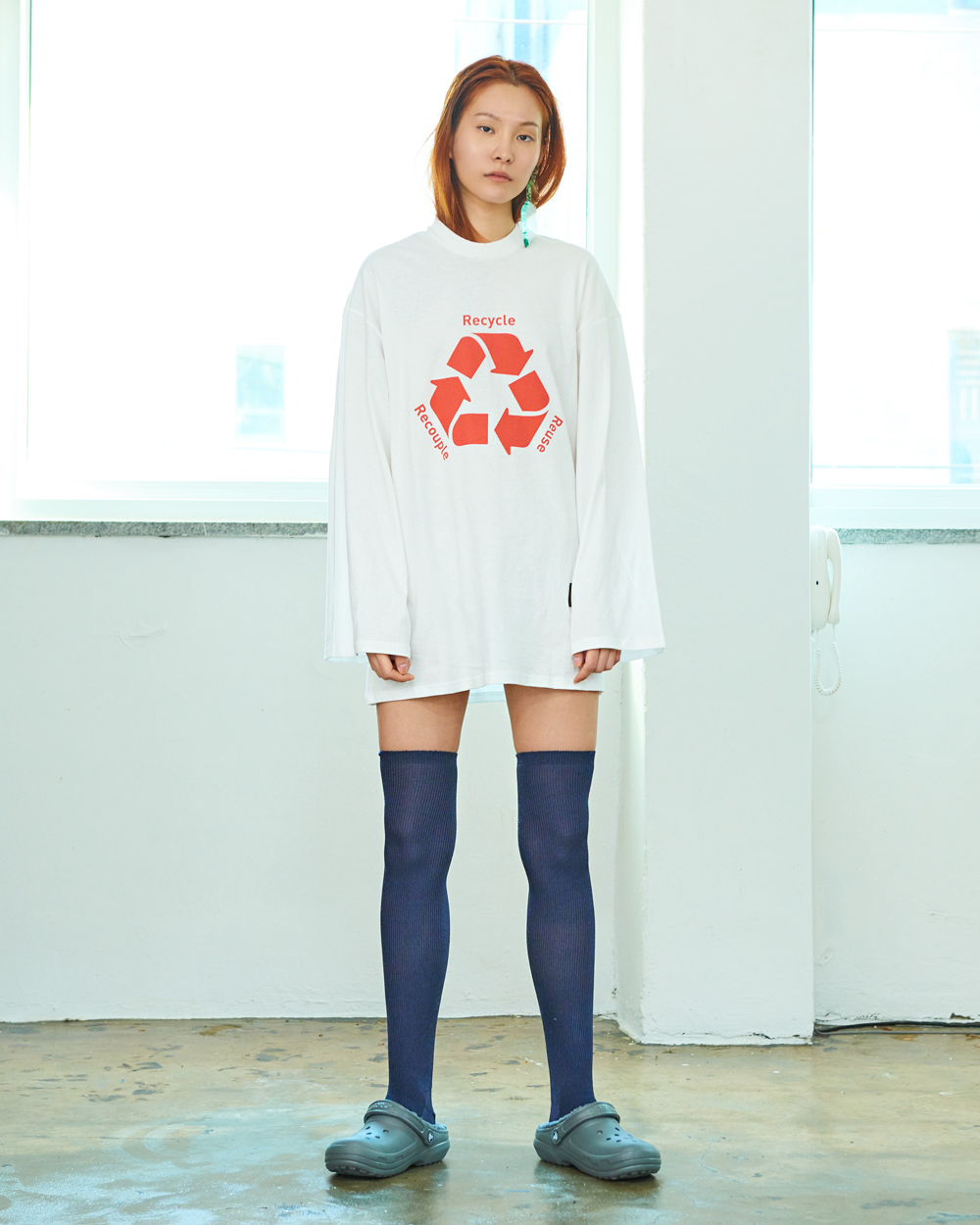 RECYCLE TEE SHIRT