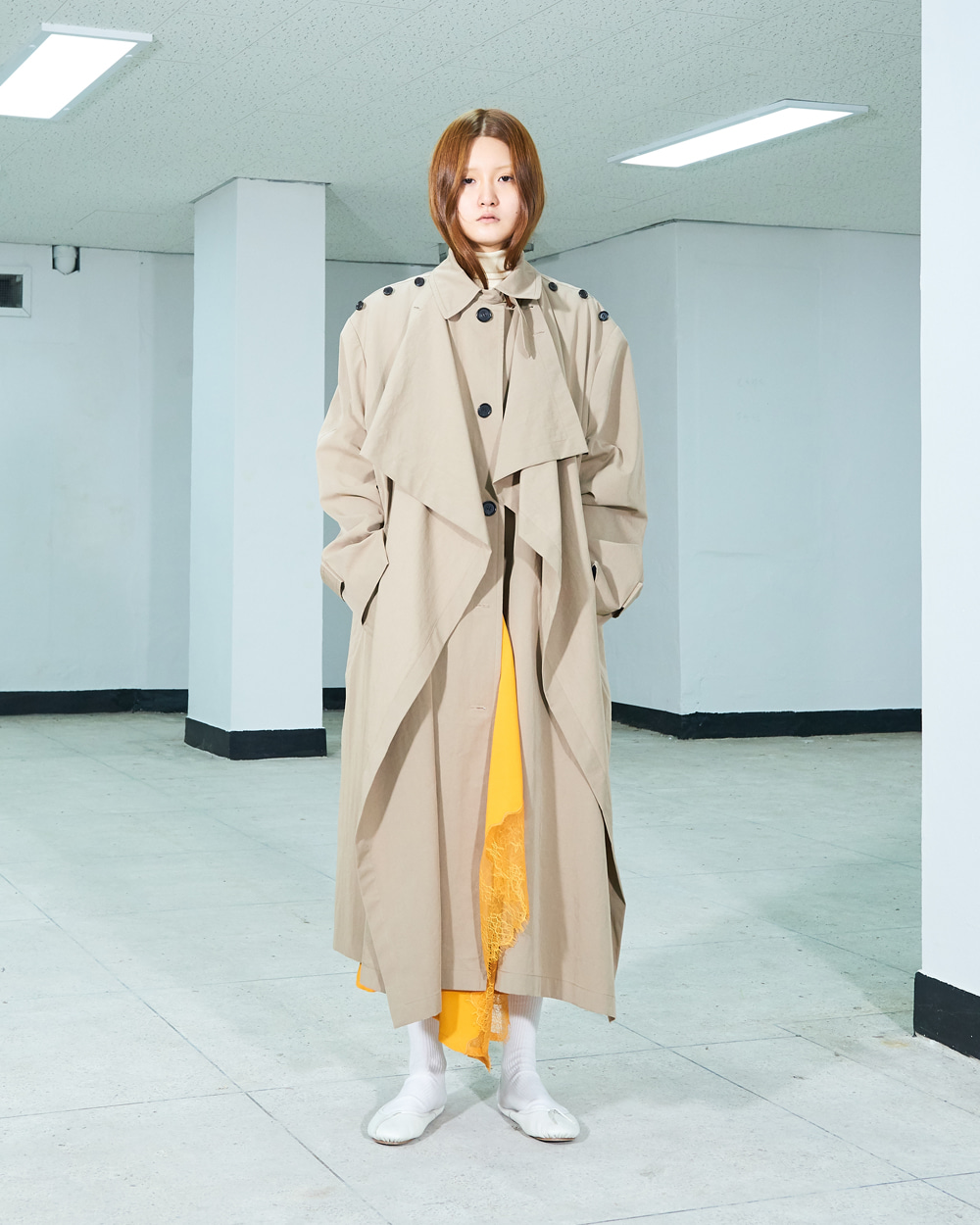 PF19 TWO-WAY TRENCH COAT