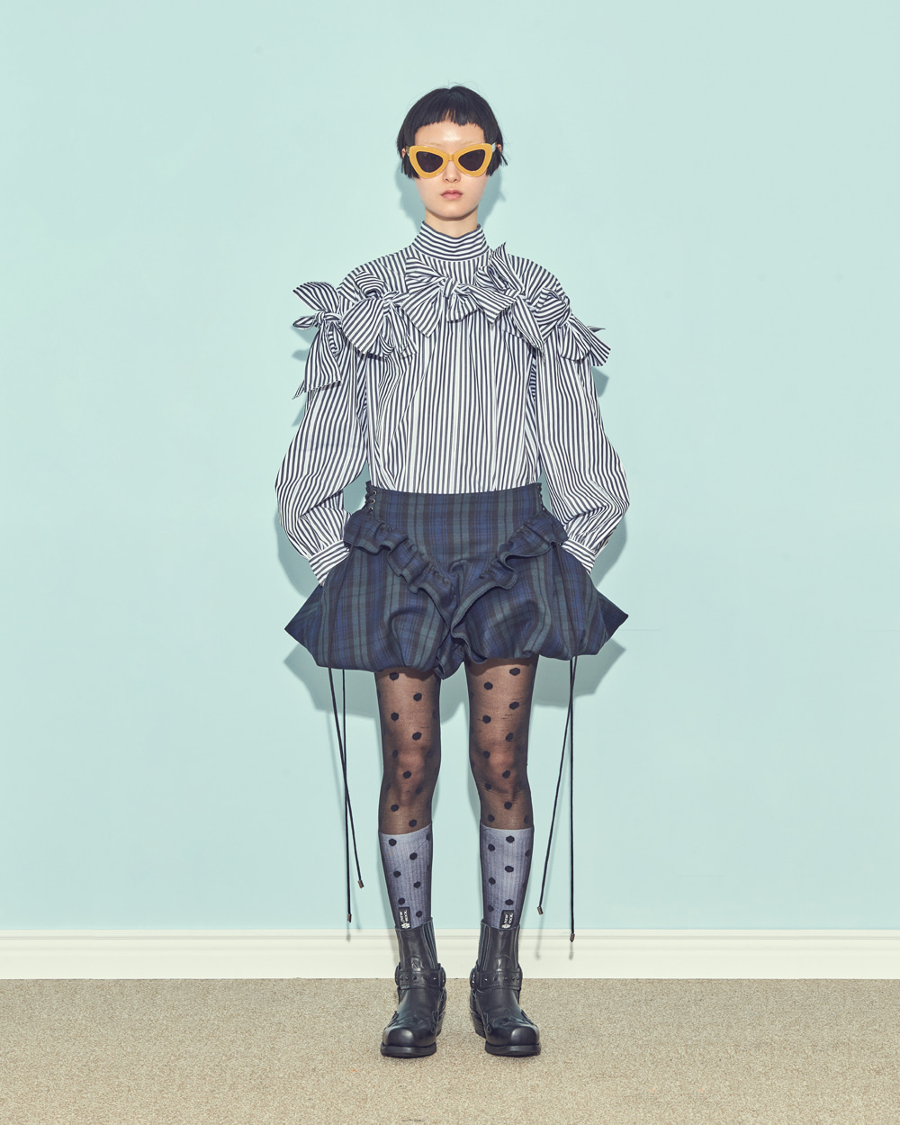 FW19 FRINGED BLOUSE