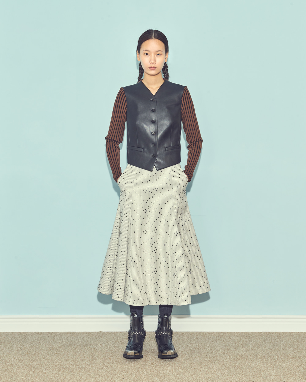 FW19 FLARE VOLUME SKIRT
