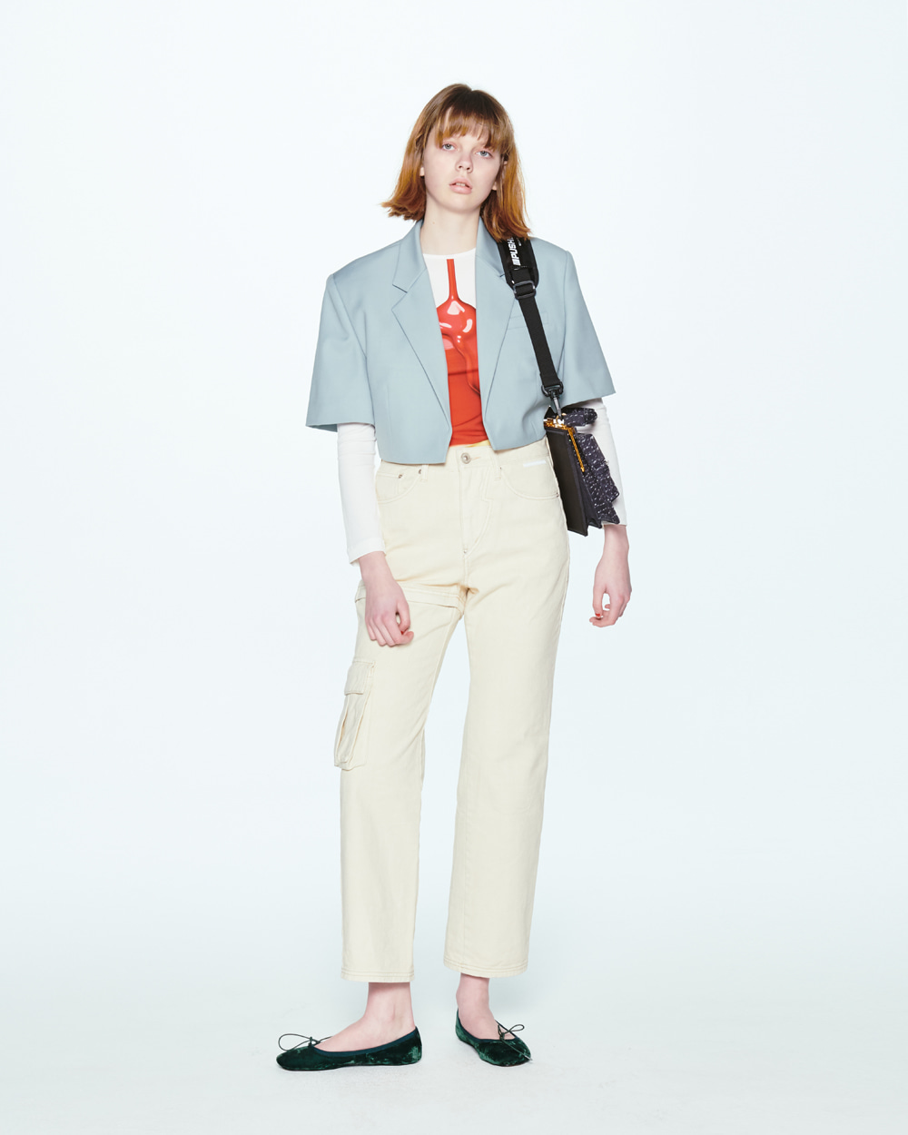 SS20 TRANSFORMER TWO-WAY IVORY JEANS