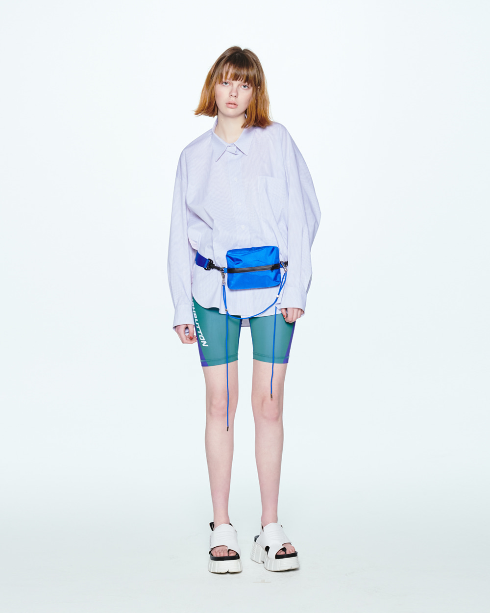 SS20 EMBROIDERED BIG POCKET CHECK SHIRT