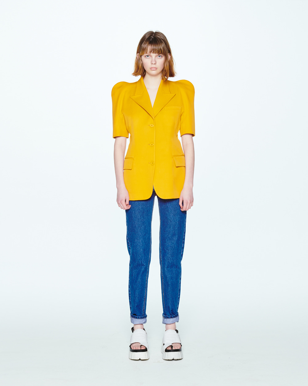 SS20 SHORT SLEEVED YELLOW JACKET