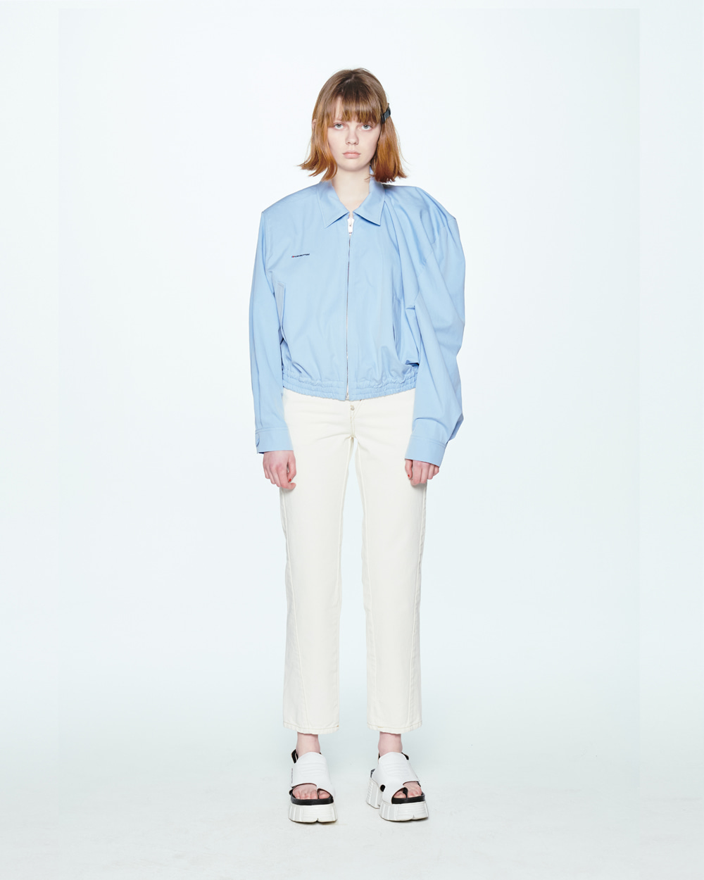 SS20 BACK-UP IVORY JEANS