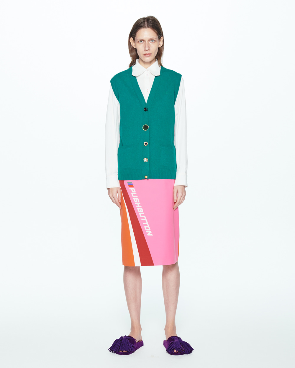 PF20 VIVID STRAIGHT SKIRT