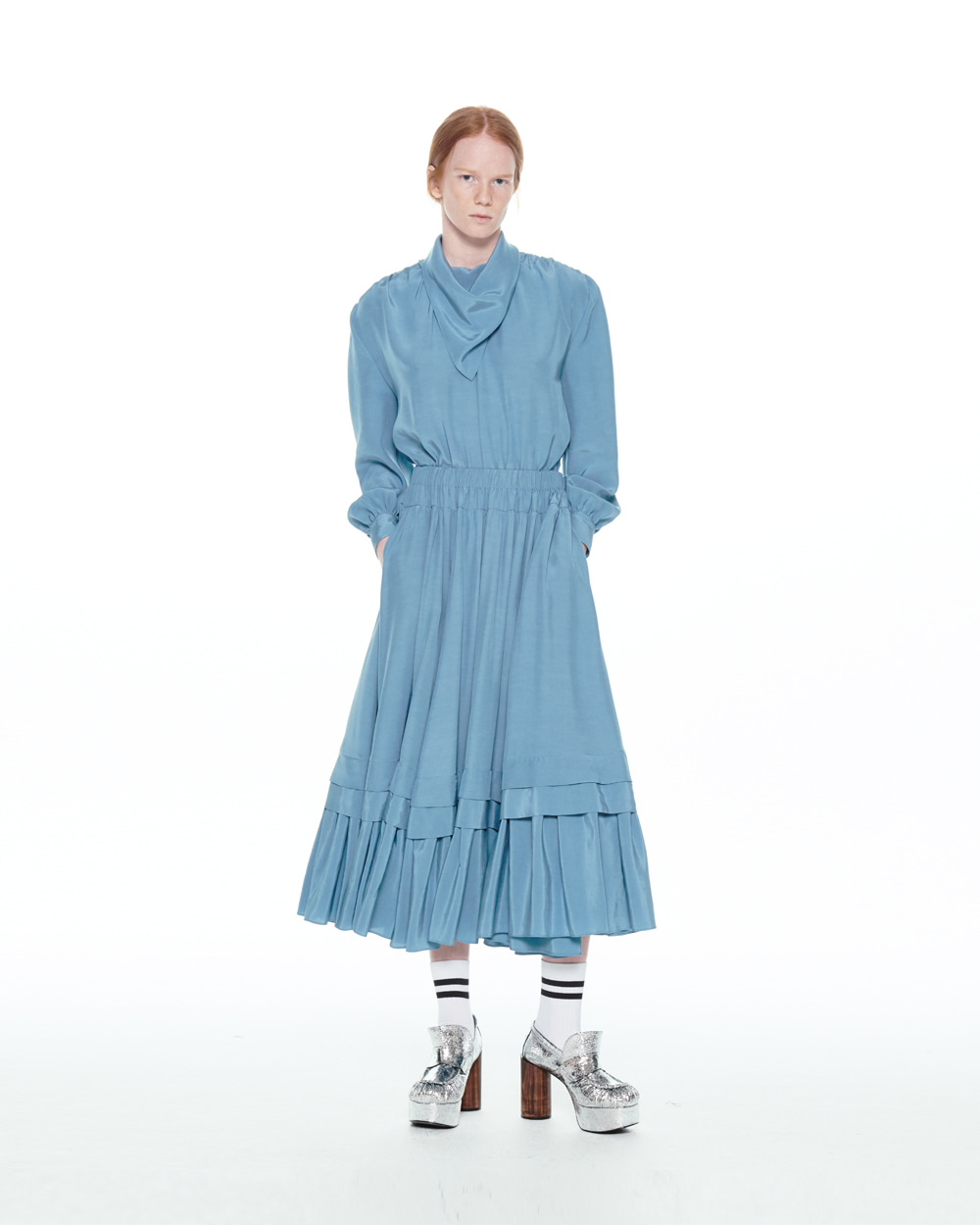 FW20 ELEGANT BLUE DRESS