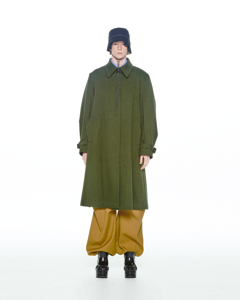FW20 COTTON SINGLE DUSTER COAT