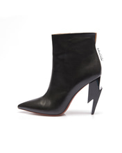THUNDER HEEL POINT ANKLE BOOTS