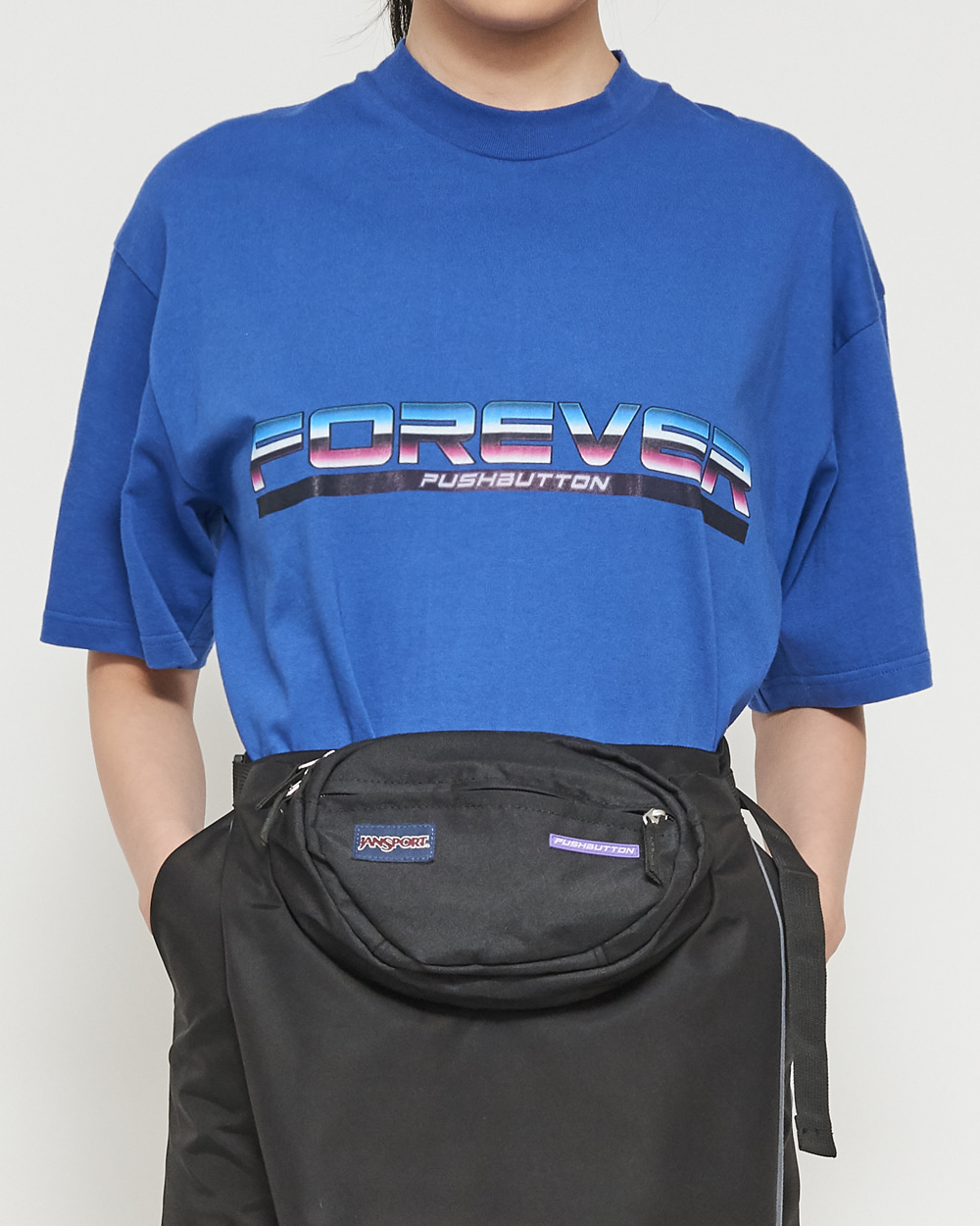 FOREVER PUSHBUTTON T-SHIRT