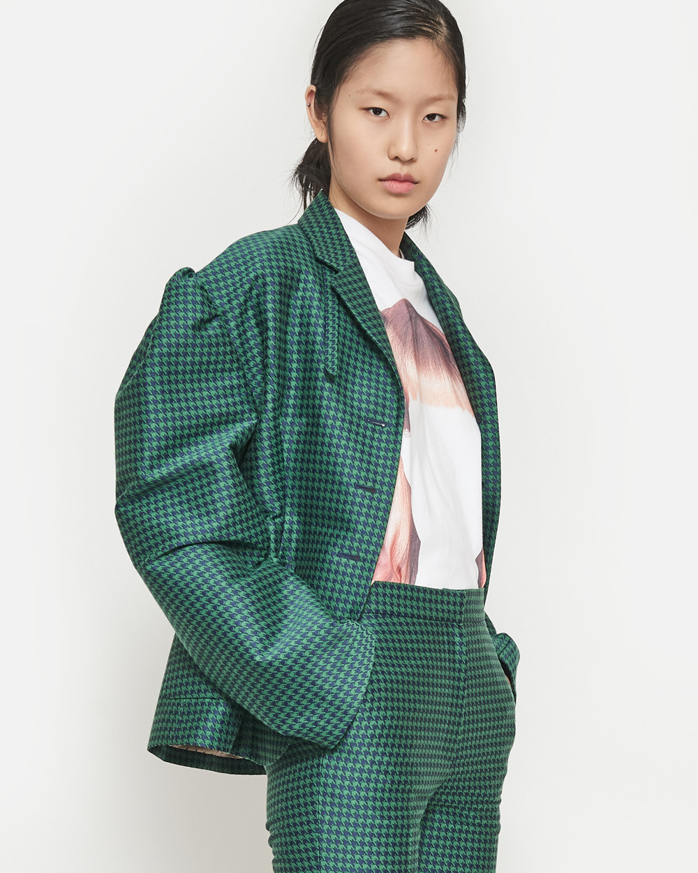 SS19 TRANSFORMER MINI JACKET