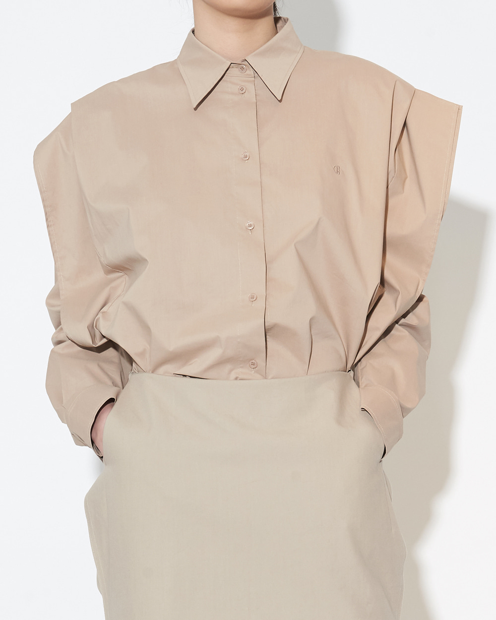 SHOULDER LAYER SHIRT