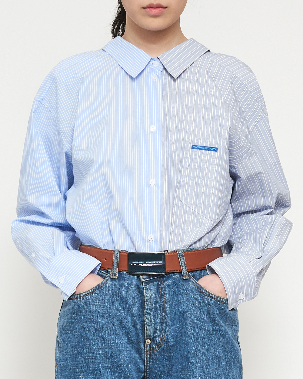 SS19 2-WAY SWING COTTON SHIRT