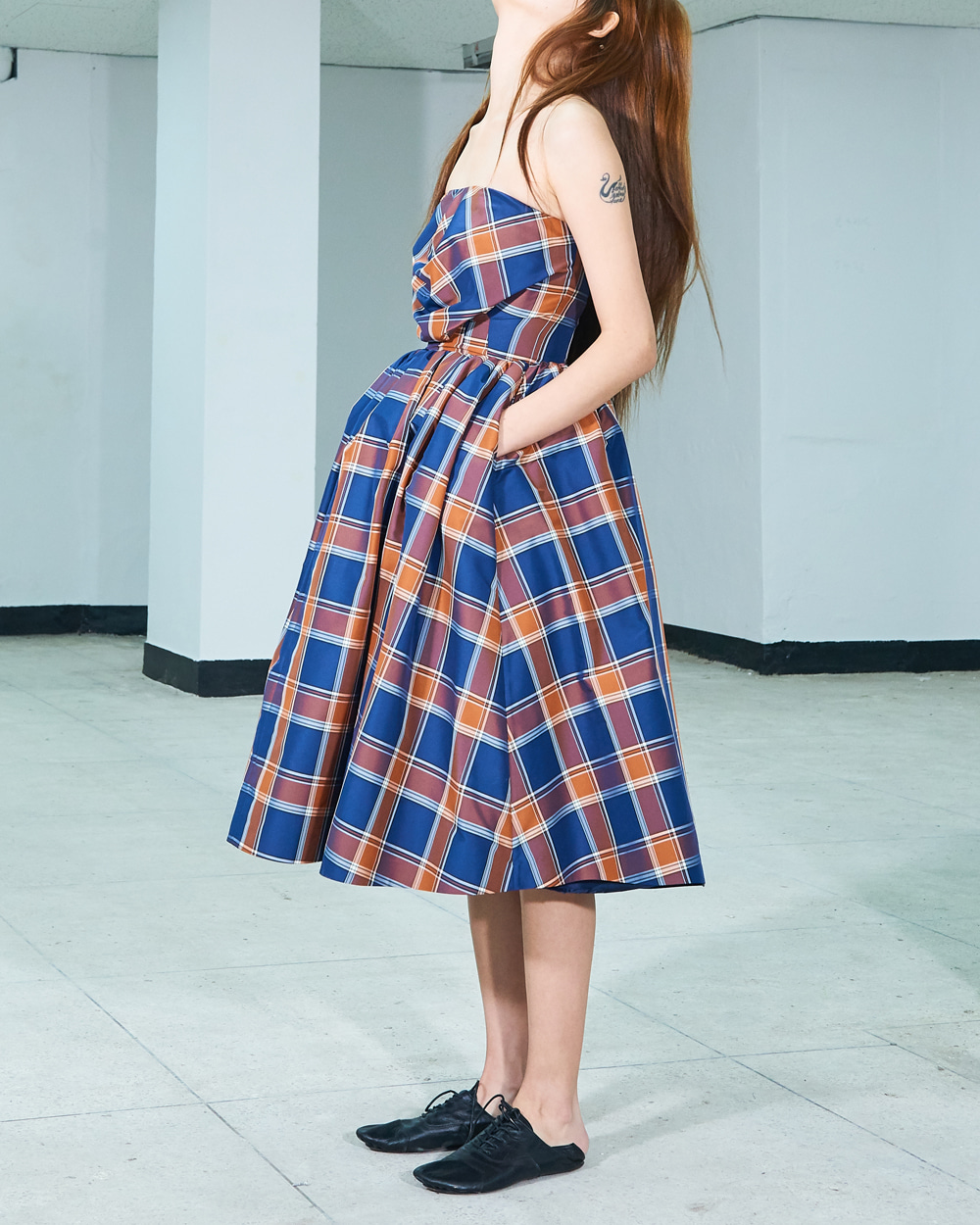 PF19 CREASES TUBE DRESS