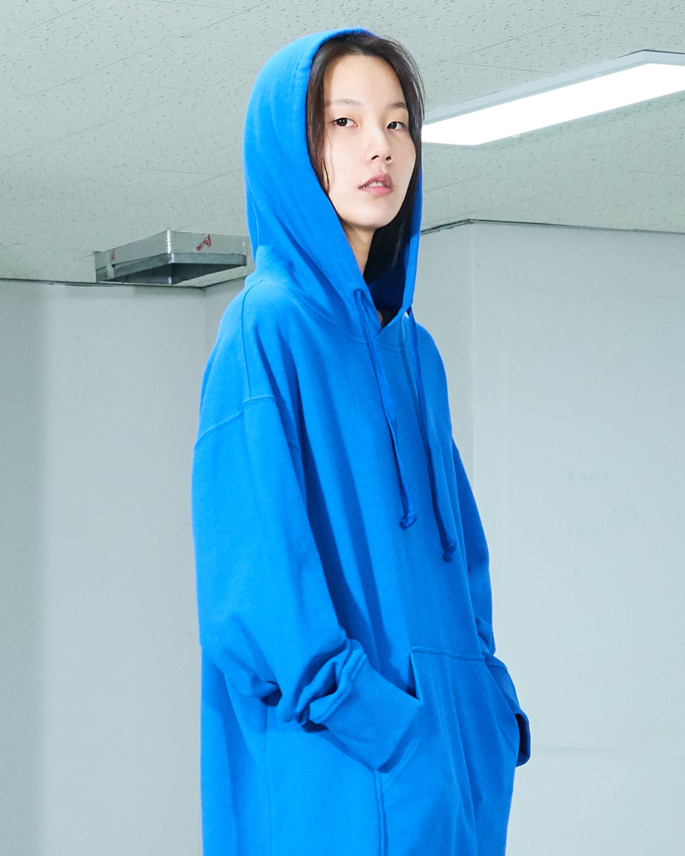 PF19 HOODY LONG DRESS