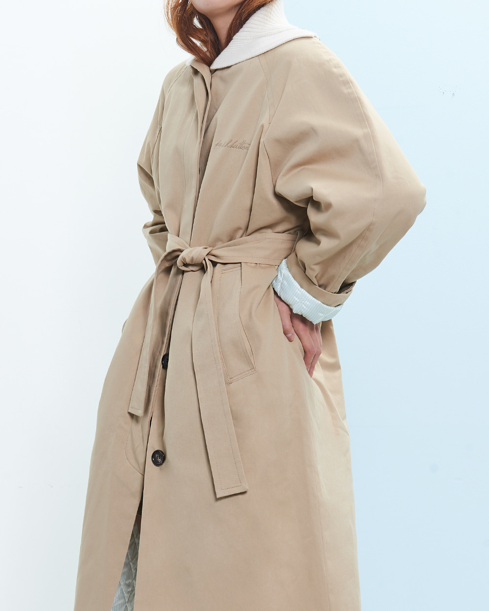 PF19 TURTLENECK BARREL COAT