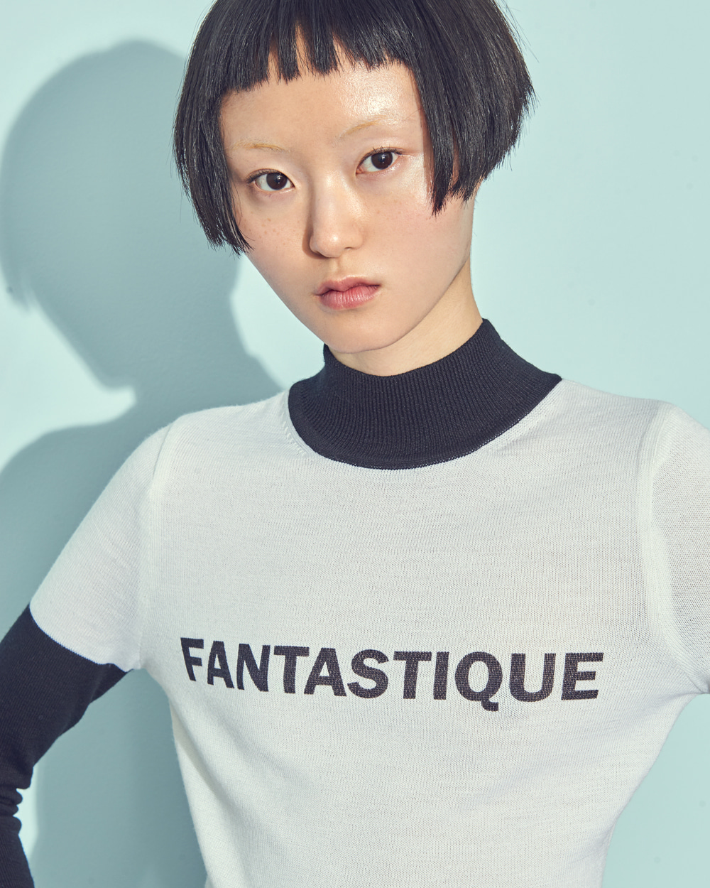 FANTASTIQUE KNIT BODY SUIT