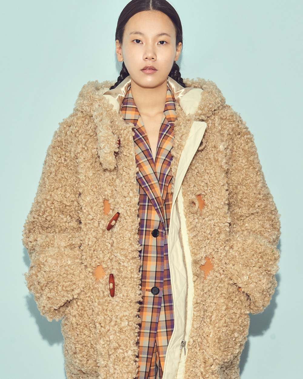 OVER SIZED DUFFLE COAT