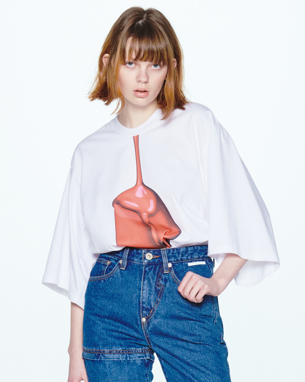 SS20 LIPSTICK SHORT SLEEVED T-SHIRT
