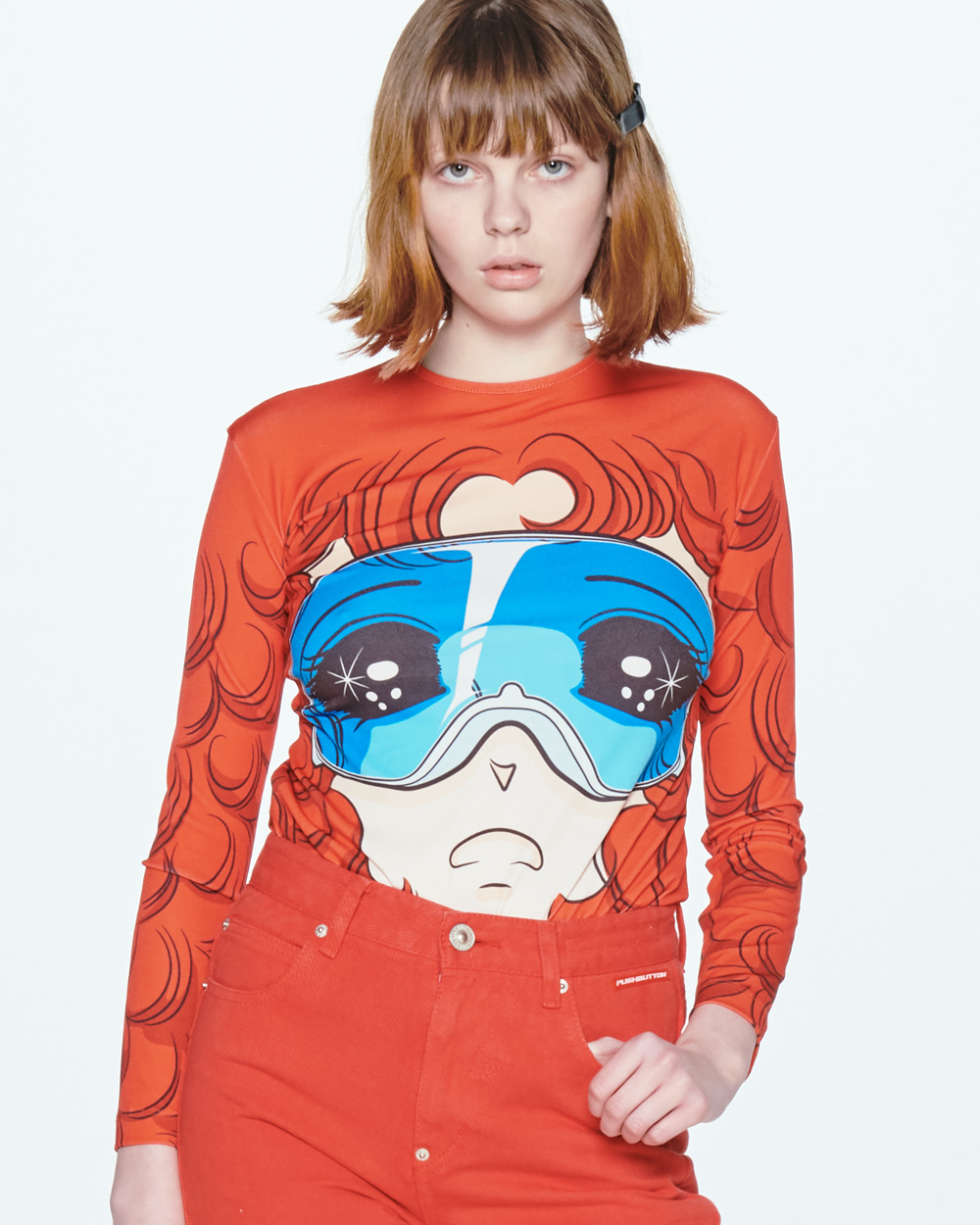 SS20 GOGGLES GIRL LONG SLEEVED T-SHIRT