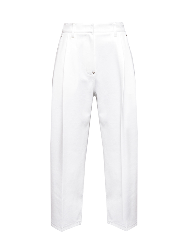 PF20 COTTON PINTUCK PANTS