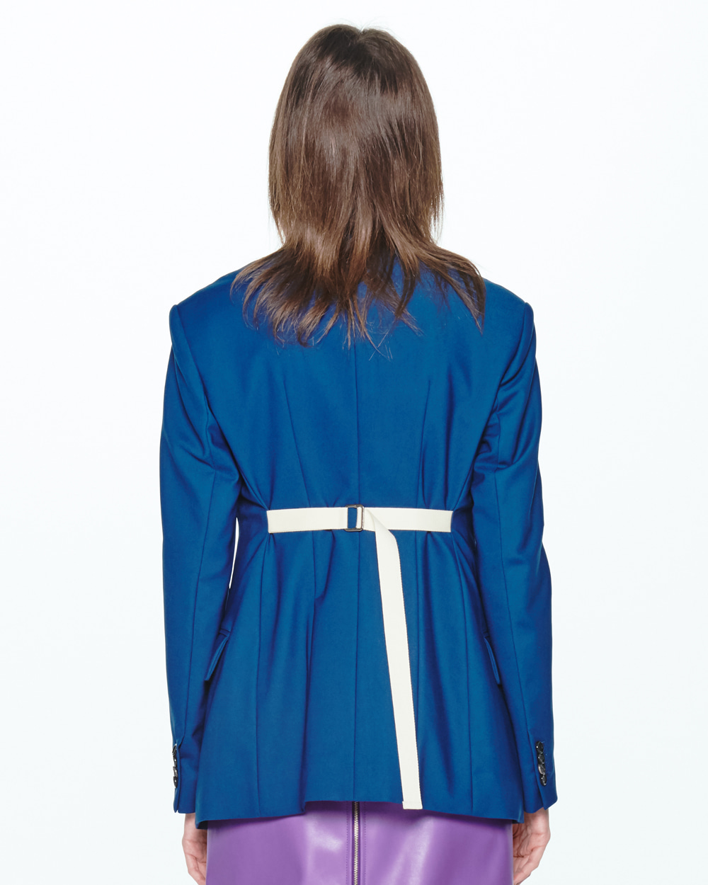 PF20 BELTED-BACK SINGLE JACKET