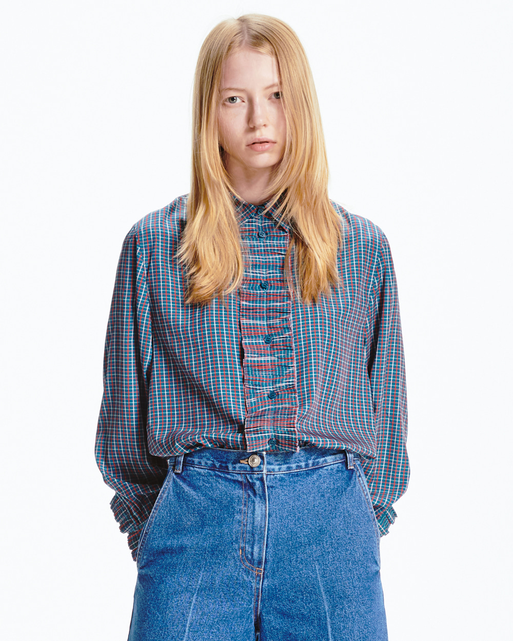 PF20 FRILL POINT SHIRT