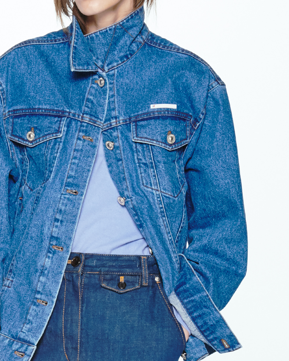 PF20 STRING POINT DENIM JACKET