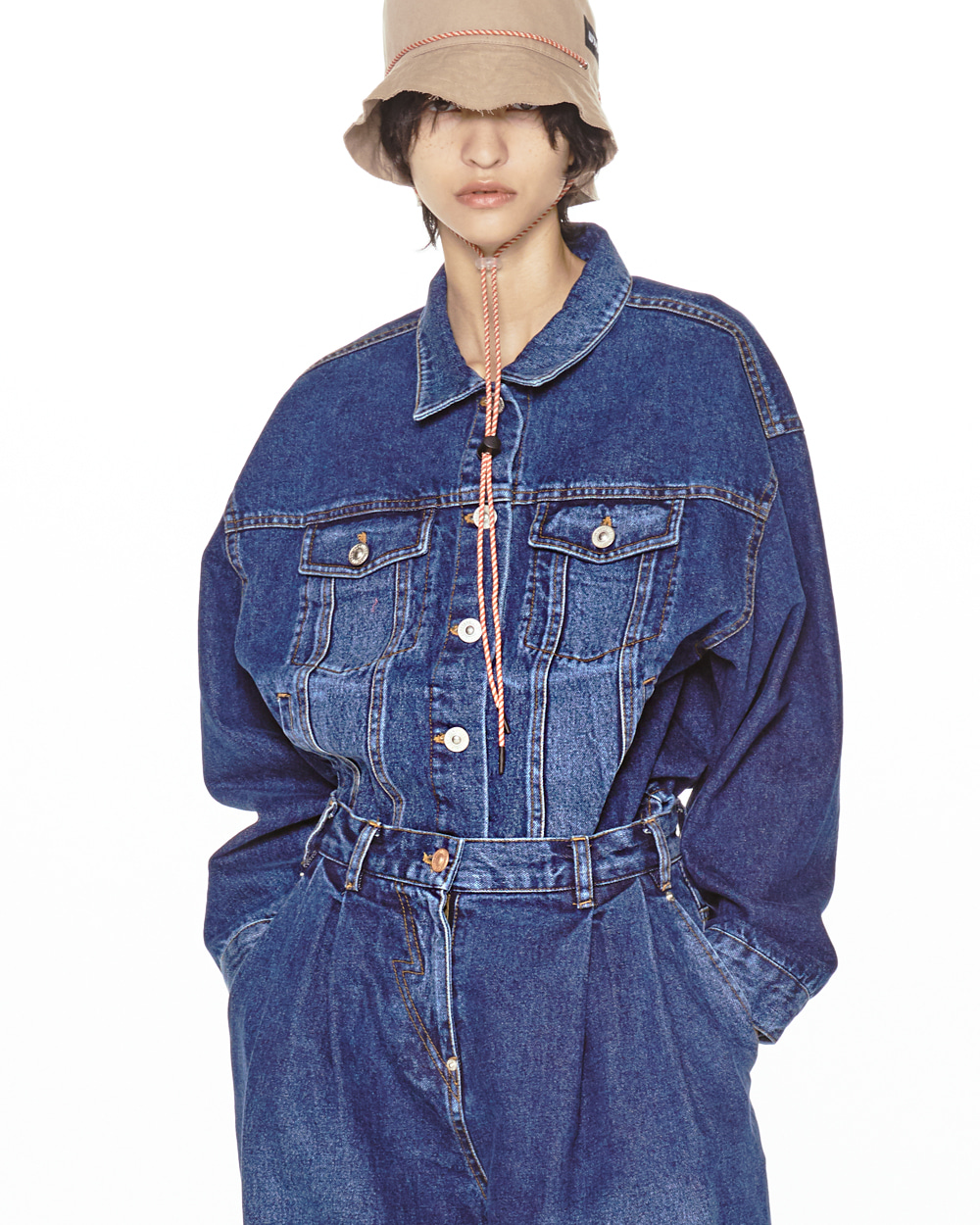 FW20 COTTON DENIM JACKET