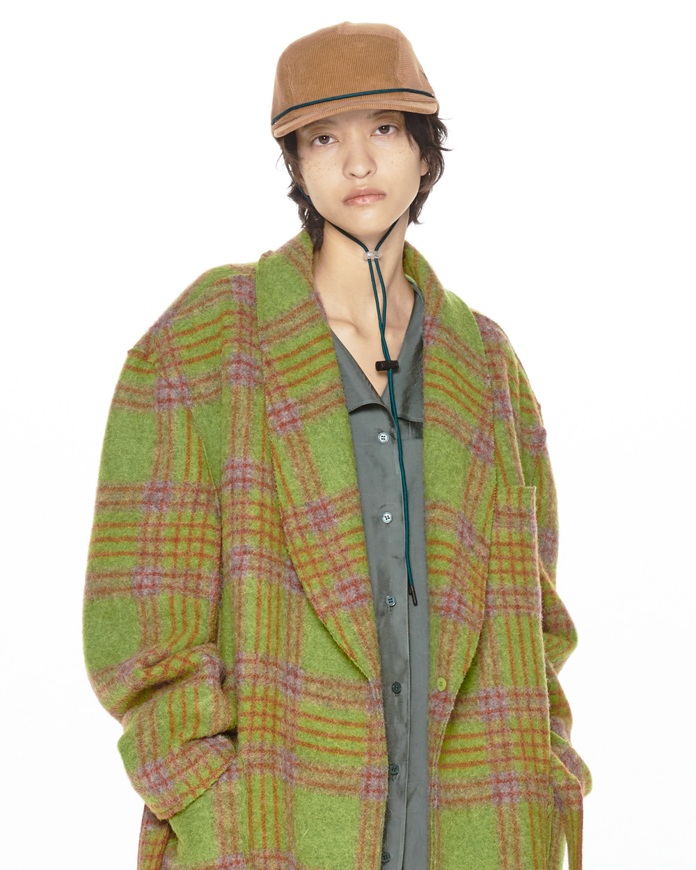 FW20 SHAWL COLLAR COAT
