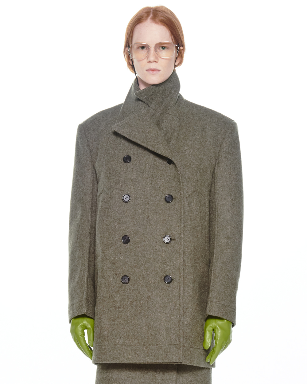 FW20 MILITARY POCKET PEACOAT