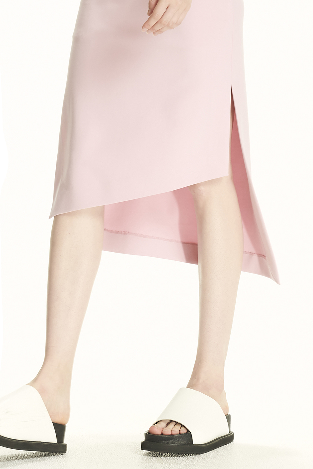 PS21 PINK ASYMMETRICAL SKIRT