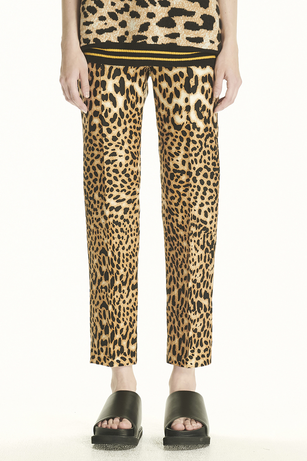 PS21 STANDARD LEOPARD TROUSERS