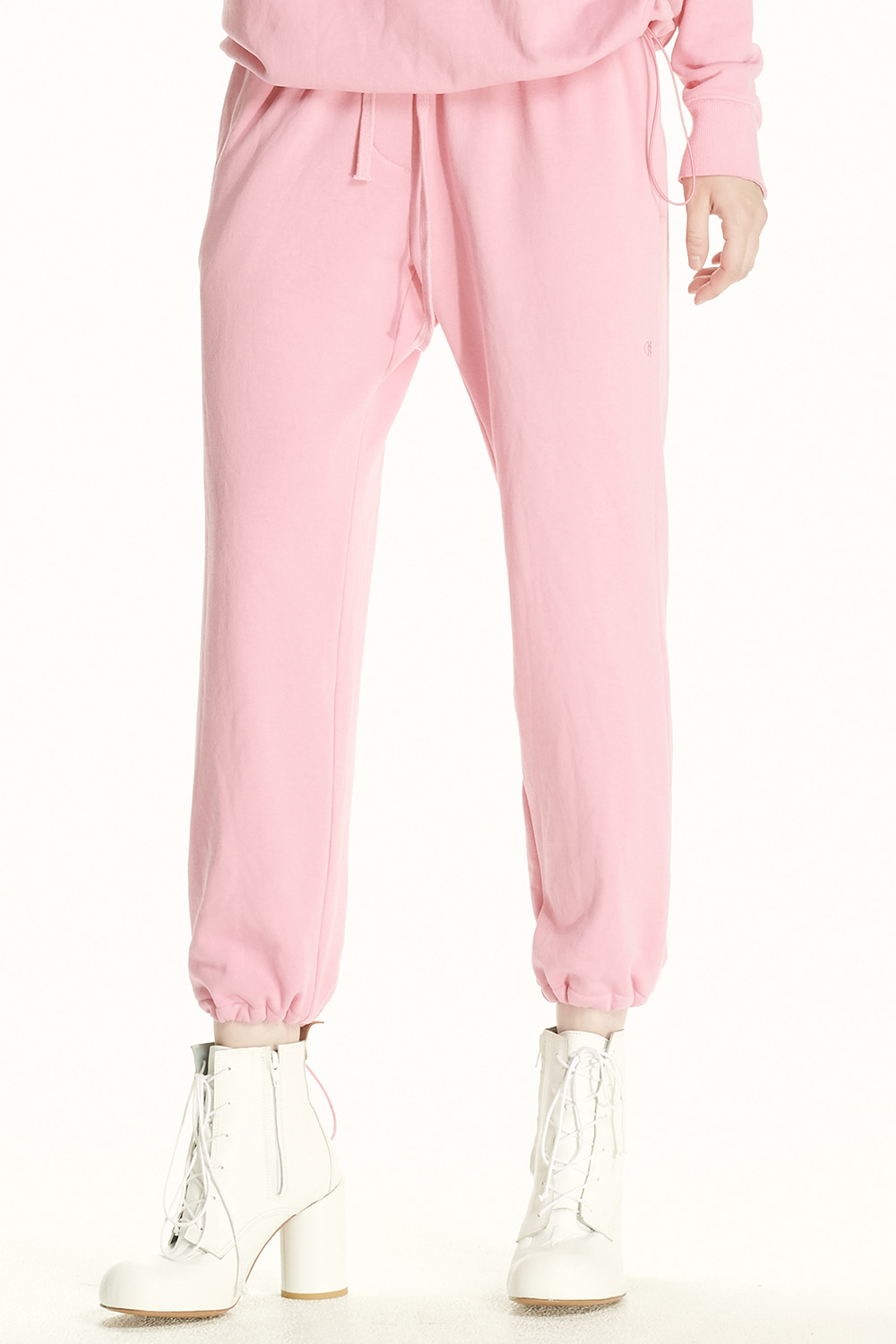PS21 DRAWSTRING PINK JOGGER PANTS