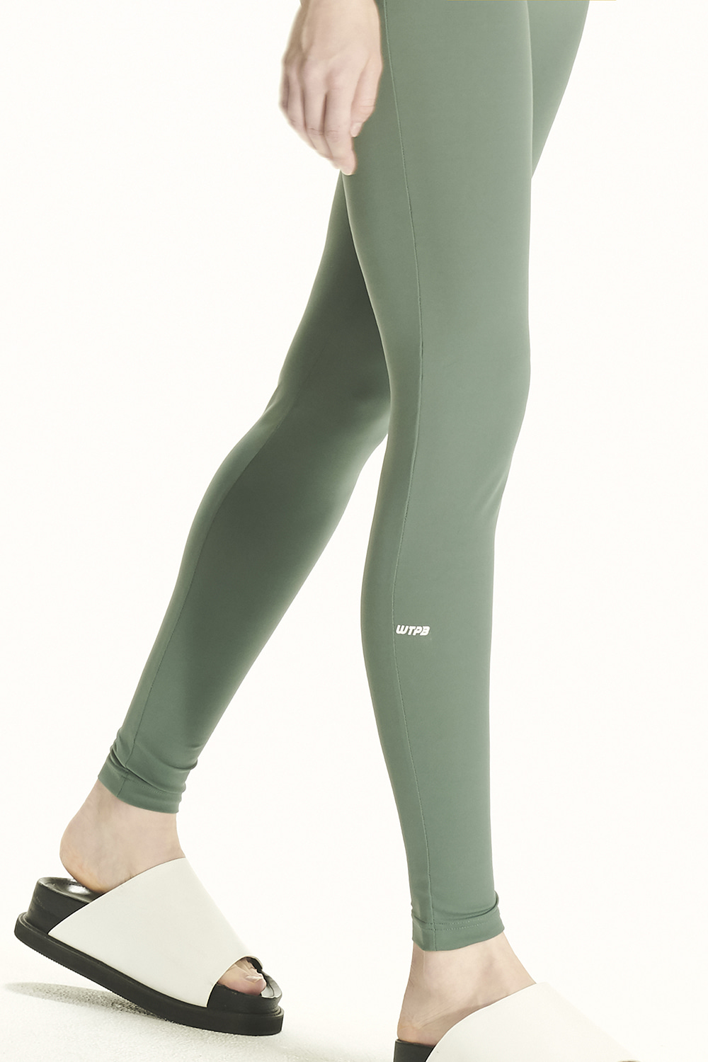 PS21 WTPB LOGO KHAKI LEGGINGS