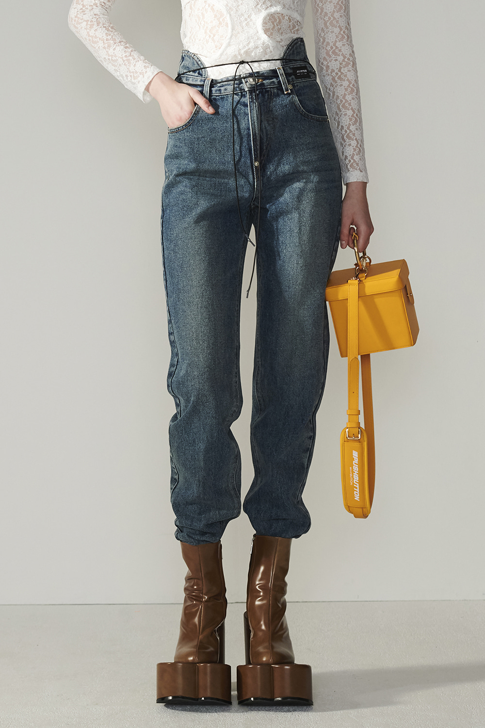 SS21 BACK-UP DEEP BLUE JEANS