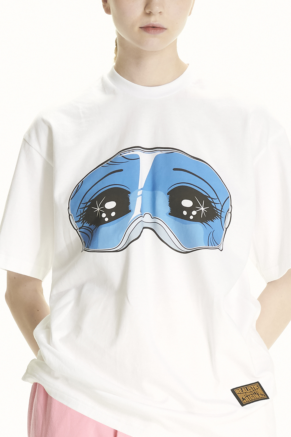 PS21 GOGGLES GIRL SHORT SLEEVED T-SHIRT